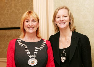 L to R., Eleanor O'Kelly Lynch, Chairperson of the Sales Institute of Ireland and Niamh O'Driscoll, Fastnet Recruitment. Pictured at the Sales Institute of Ireland Breakfast Seminar at the Imperial Hotel. Picture, Tony O'Connell Photography.